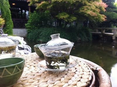 Tea at the Lan Su Garden
